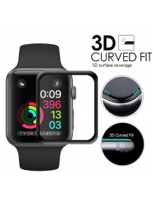 Lámina de cirstal templado Apple Watch 3.8mm 3D