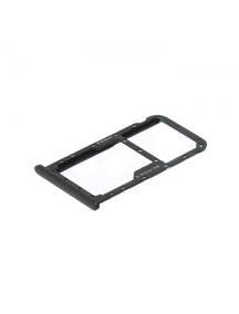Zócalo de SIM + micro SD Huawei Mate 10 lite negro