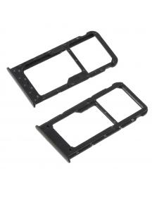 Zócalo de SIM + micro SD Huawei P Smart negro