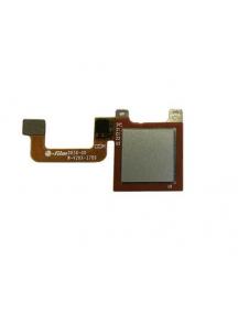 Cable flex de lector de huella digital Huawei Ascend Y6 Pro 2017 plata
