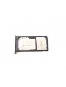 Zócalo de SIM + micro SD Huawei Ascend Y7 negro