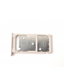 Zócalo de SIM + micro SD Huawei Ascend Y7 dorado