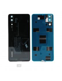 Tapa de batería Huawei P20 negra