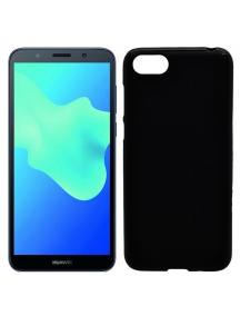 Funda TPU soft Huawei Honor 7s - Y5 218 negra