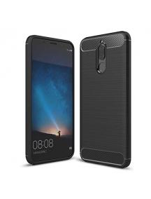 Funda TPU Carbon Huawei Honor Mate 10 Lite negra