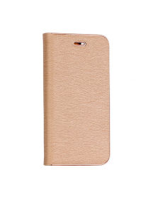 Funda libro Vennus iPhone 7 Plus - 8 Plus dorada