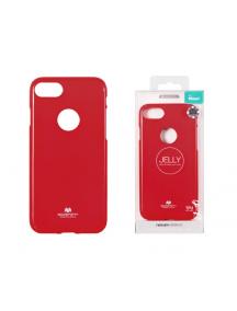 Funda TPU Goospery iPhone 7 Plus - 8 Plus roja