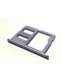 Zócalo tarjeta de memoria micro SD Samsung Galaxy J6 2018 J600F mono SIM lavanda