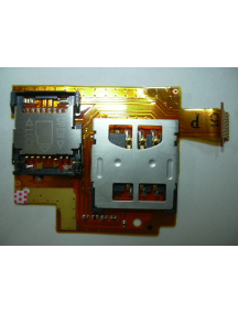 Cable flex Sharp 770SH SIM y tarjeta de memoria