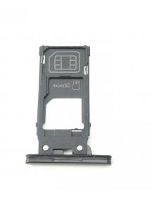 Zócalo de SIM + micro SD Sony Xperia XZ2 H8266 negro