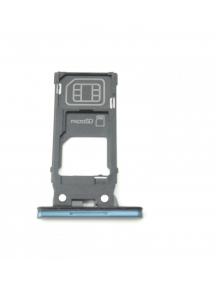 Zócalo de SIM + micro SD Sony Xperia XZ2 H8266 verde oscuro