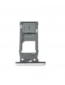 Zócalo de SIM + micro SD Sony Xperia XZ2 H8266 rosa
