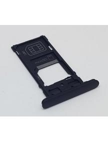 Zócalo de SIM + micro SD Sony Xperia XZ2 Compact H8324 negro