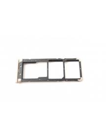 Zócalo de SIM + SD Xiaomi Redmi Note 5A dorado