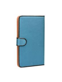 """Funda libro tablet Fancy universal 7"""" - 8"""" azul"""