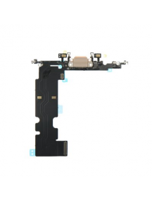 Cable flex de conector de carga - accesorios iPhone 8 Plus dorado