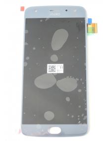 Display Motorola Moto X4 azul