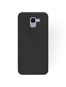 Funda TPU Matt Samsung Galaxy J6 2018 J600F negra