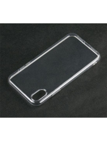 Funda TPU slim iPhone 9 Plus transparente