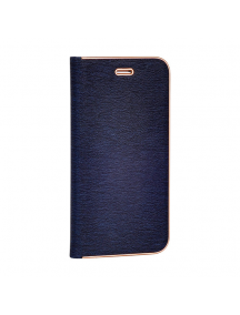 Funda libro Vennus Samsung Galaxy A6 Plus 2018 A605 azul