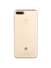 Carcasa trasera Huawei Y6 2018 Prime - Honor 7A dorada