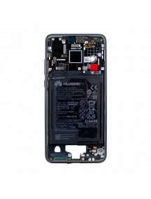 Carcasa intermedia Huawei P20 negra