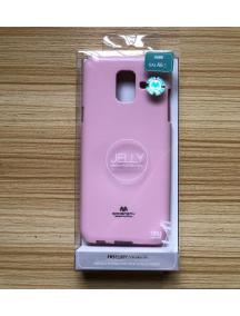 Funda TPU Goospery Samsung Galaxy A6 2018 A600F rosa claro