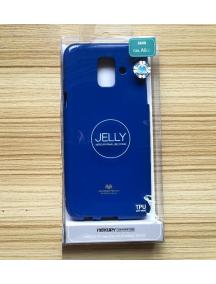 Funda TPU Goospery Samsung Galaxy A6 2018 A600F azul