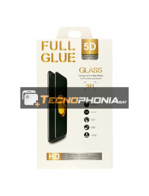 Lámina de cristal templado 5D iPhone XS Max transparente