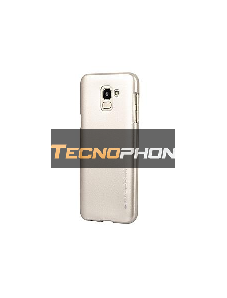 Funda TPU Goospery Samsung Galaxy J6 2018 J600F dorada