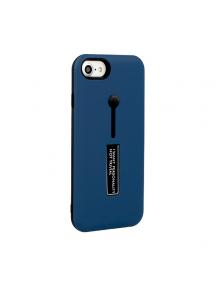 Funda TPU Vennus Ring Samsung Galaxy J6 2018 J600F azul