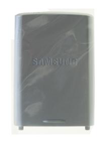 Tapa de batería Samsung J600 plata