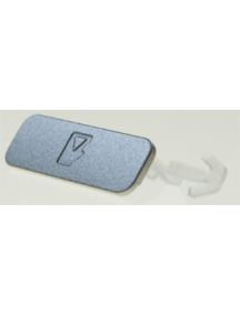 Pestaña de tarjeta de memoria Nokia N82 plata