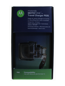 Cargador Motorola P035 F3