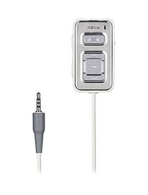 Adaptador de audio Nokia AD-44 blanco