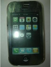 Protector Apple iPhone verde - transparente