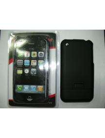 Protector de pasta Apple iPhone negro