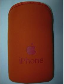 Funda - bolsa iPhone naranja