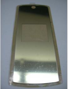 Ventana externa Motorola K1 dorada