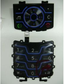 Teclado Motorola Z6 azul