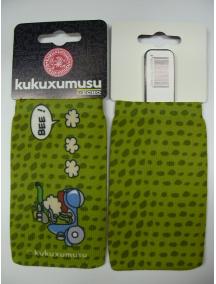 Funda - Calcetín Kukuxumusu oveja en vespa verde