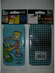 Funda - CalcetínThe Simpsons Sombra Bart azul