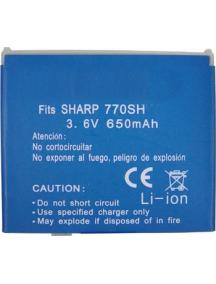 Batería Sharp 770 compatible