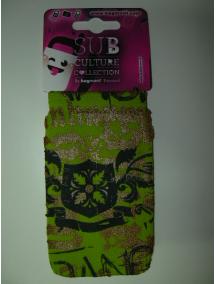 Funda - calcetín Bagmóvil Sub Culture Escudo verde lima