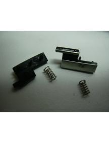 Pestaña de tapa de batería Blackberry 8100