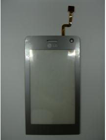 Ventana táctil LG KU990 plata