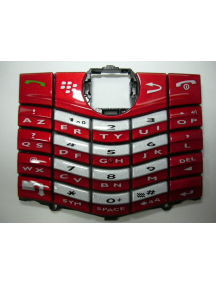 Teclado Blackberry 8100 - 8110 - 8120 rojo