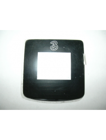 "Ventana externa Motorola V3x con logo ""3"""