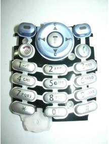 Teclado Motorola C330 azul