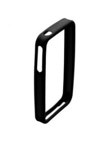 Protector bumper de silicona Apple iPhone 4 negro